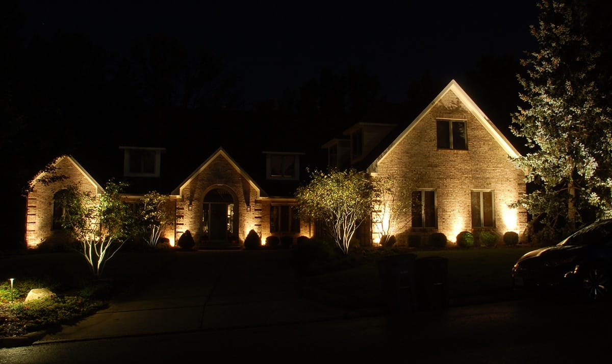 Landscaping lighting for House style examples